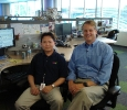 eBay CEO, John Donahoe and Peter Lam