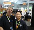 eBay President of North America, Bill Cobb and eBay Customer Support Employee, Peter Lam