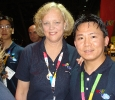 eBay CEO, Meg Whitman and eBay Customer Support Employee, Peter Lam